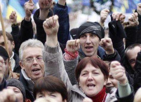 Біля стін Верховної Ради протестують проти скасування пільг