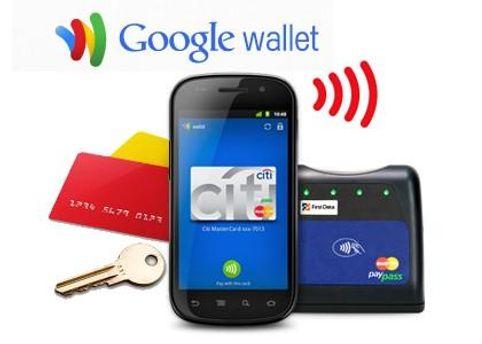 Google Wallet позволяет оплачивать покупки с помощью смартфона