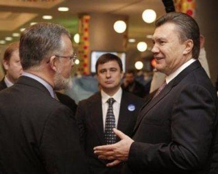 Дмитрий Табачник и Виктор Янукович