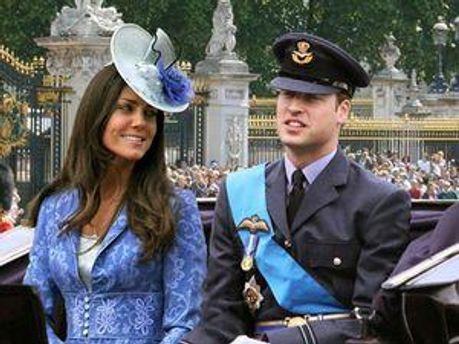 Королівське подружжя Принц Вільям і Кейт Міддлтон