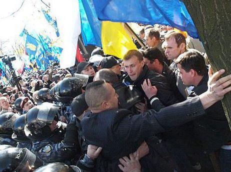 Міліція проводить дослідчу перевірку щодо мітингу біля Верховної Ради