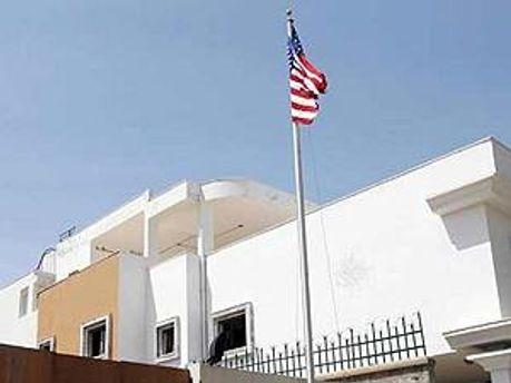 Здание посольства США в Ливии