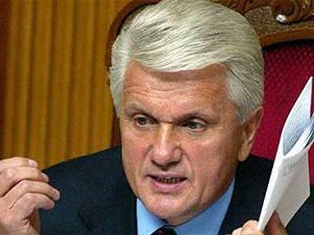 Председатель Верхновной рады Украины