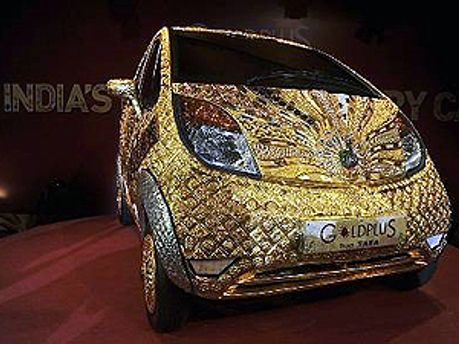 Золотий Tata Nano