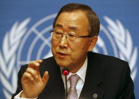 Пан Ги Мун стремится разрешить конфликт между Палестиной и Израилем