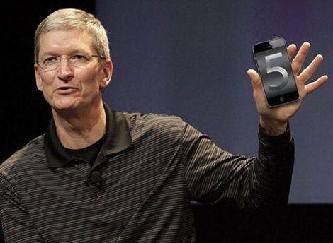 Новий смартфон презентує Тім Кук