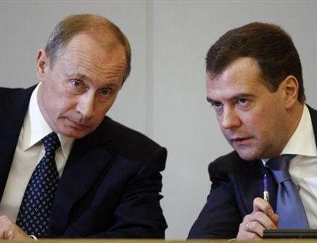 С Януковичем будут общаться Путин и Медведев