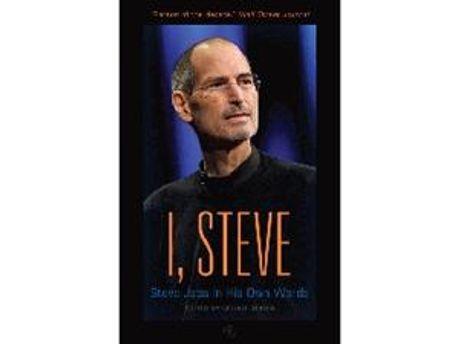 """Обложка книги """"I, Steve: Steve Jobs In His Own Words"""""""