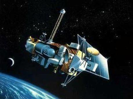 Спутник UARS упал в субботу утром
