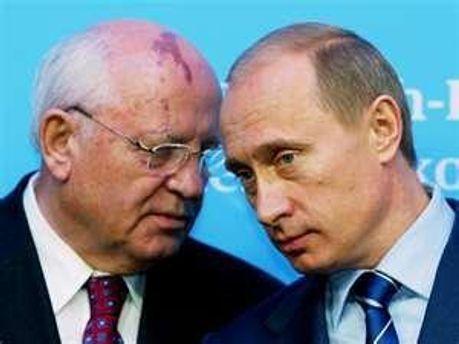 Горбачову не подобається план Медведєва та Путіна