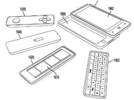 Такое устройство запатентовала компания Microsoft