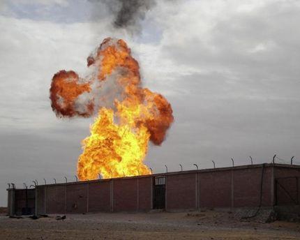 Подобный теракт в феврале оставил Израиль и Иорданию на месяц без газа