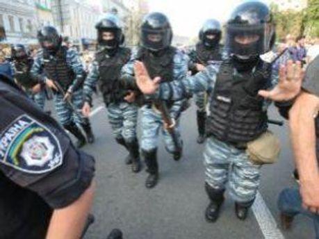 Прихильникам Тимошенко завадили знести огорожу