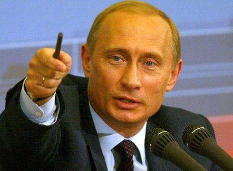 У мультфільмі Путіна зобразили зі сталевою рукою