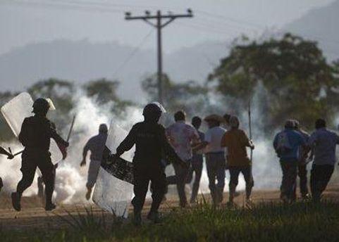 После разгона демонстрации 37 человек пропали без вести