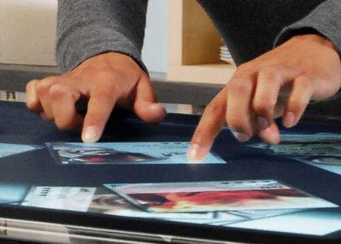 Функцию мультитач используют на планшетах и смартфонах