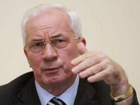 Микола Азаров не хоче ядерної зброї