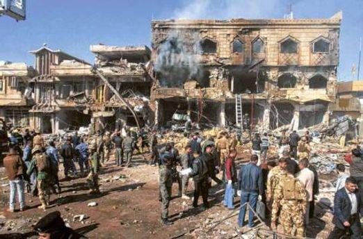 Теракт в Киркуке (архивное фото)