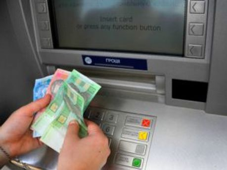 Банкоматы будут только принимать валюту