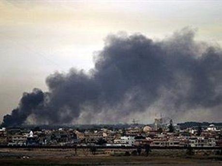 Аеропорт у Сирті знову у руках повстанців