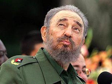 Фидель Кастро критикует Штаты