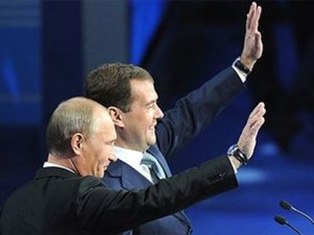 Медведєв не хоче сварок із Путіним