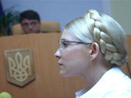 Юлія Тимошенко у залі суду