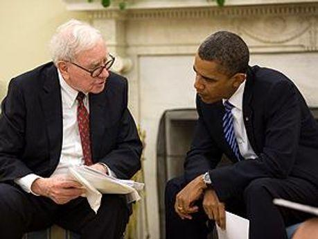 Уоррен Баффет і Барак Обама
