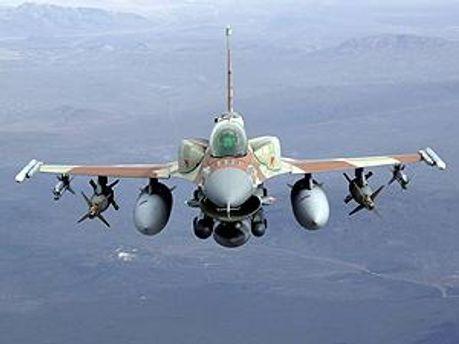 ВВС Турции отпугнули израильские истребители