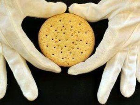 Антикварное столетнее печенье