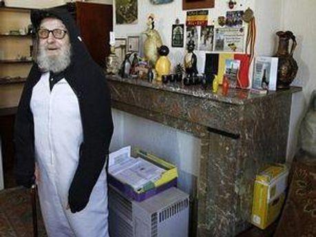 Альфред Дэвид чувствует себя пингвином