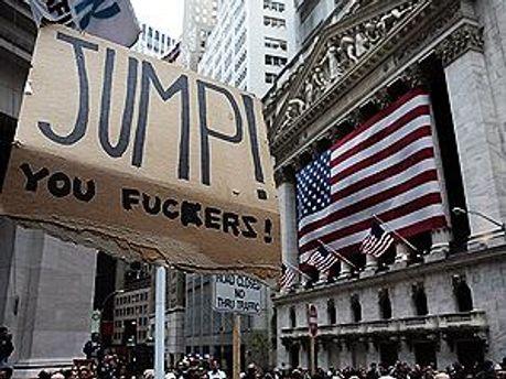 На Уолл-Стріт третій тиждень тривають протести