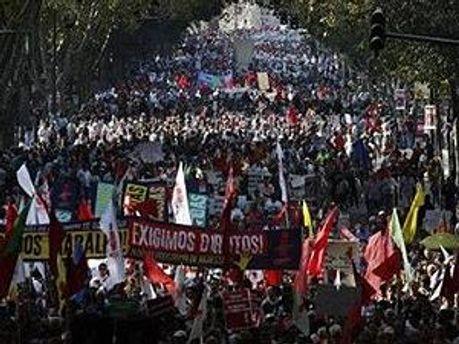 Акции протестов собрали 200 тысяч граждан
