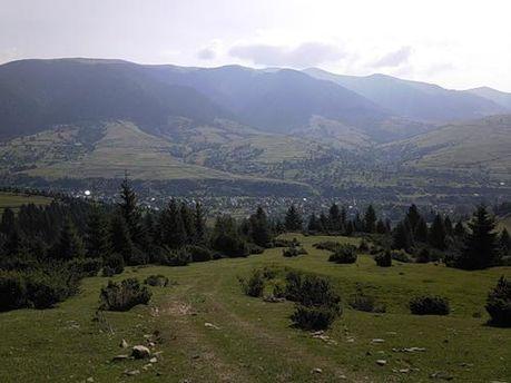 Село Синевир Закарпатської області