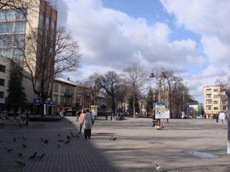 Звіт провели на площі у центрі Івано-Франківська