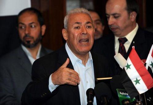 Возглавил сирийскую оппозицию Бурхан Галион