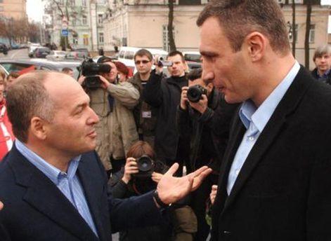 Решение Кличко изменил после встречи с Пинчуком