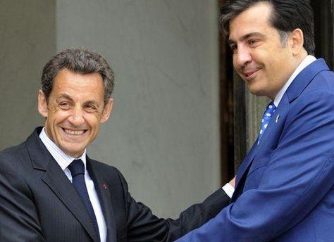У Саакашвили не исключают, что хакерские атаки вызвала предстоящая встреча с Саркози