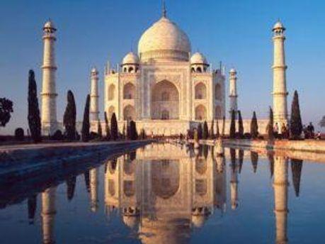 Чудо света — Мавзолей Тадж-Махал