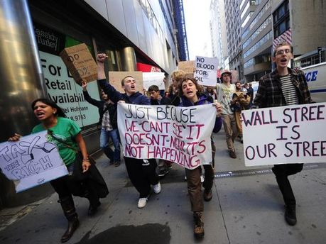 Акций на Уолл-стрит не утихают