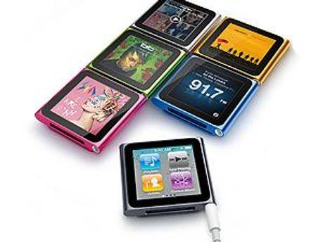 Плеєри iPod стали дешевшими