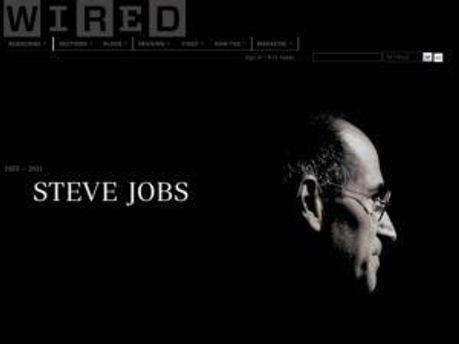 Так выглядит страница журнала Wired
