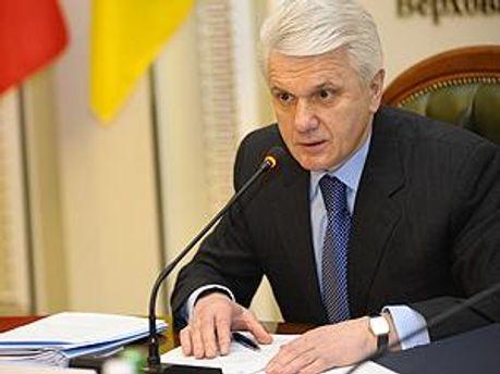 Литвин покликав лідерів фракцій до себе
