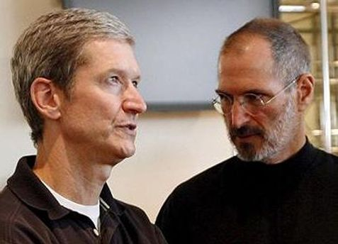 Тим Кук в августе сменил Стива Джобса на посту генерального директора Apple