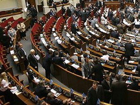 Нардепы приняли проект Януковича в первом чтении