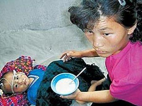 У Північній Кореї діти можуть померти від голоду