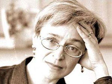 Журналистка Анна Политковская