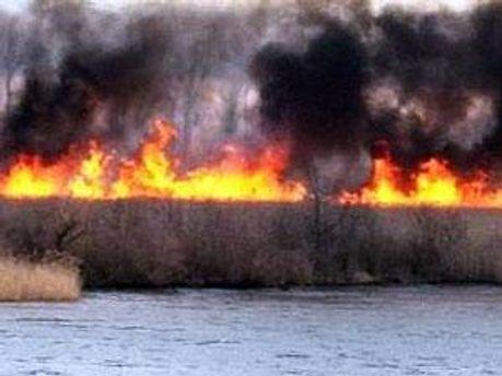 Ліквідація пожежі триває