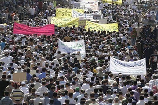 На вулиці Амману вийшло понад 3 тисячі людей