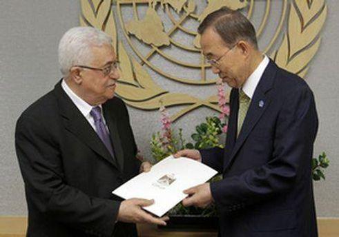 Махмуд Аббас передав Пан Гі Муну заявку на вступ в ООН